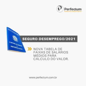 SEGURO-DESEMPREGO/2021